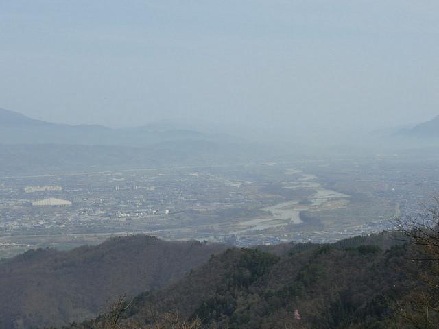 尼厳山 山頂景色