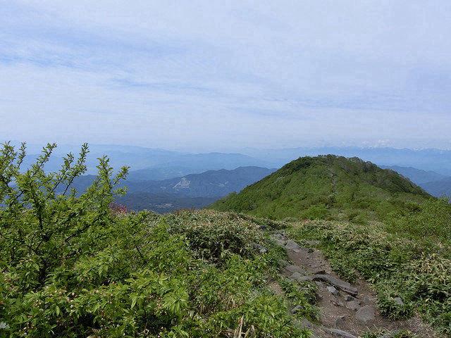 飯縄山 道1