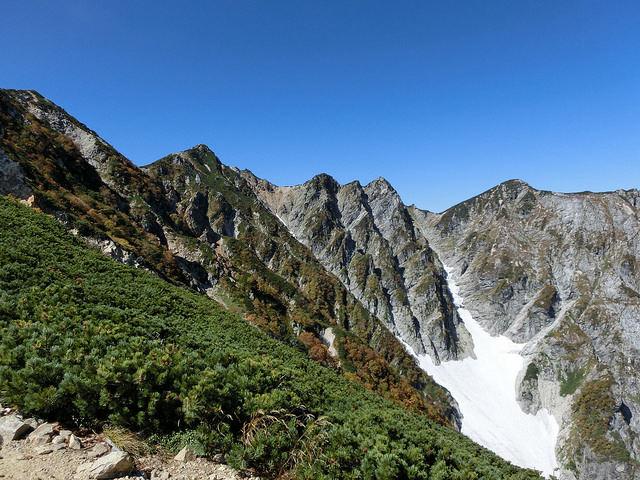 唐松岳 山中景色
