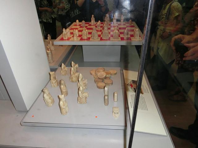 大英博物館 チェス