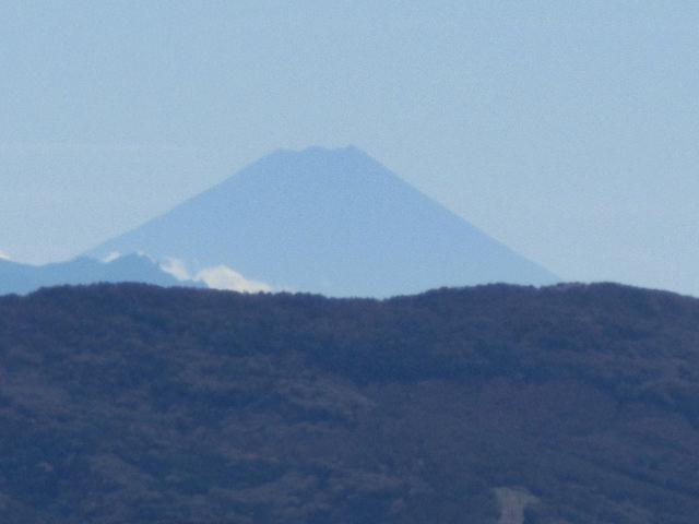 根子岳から富士山