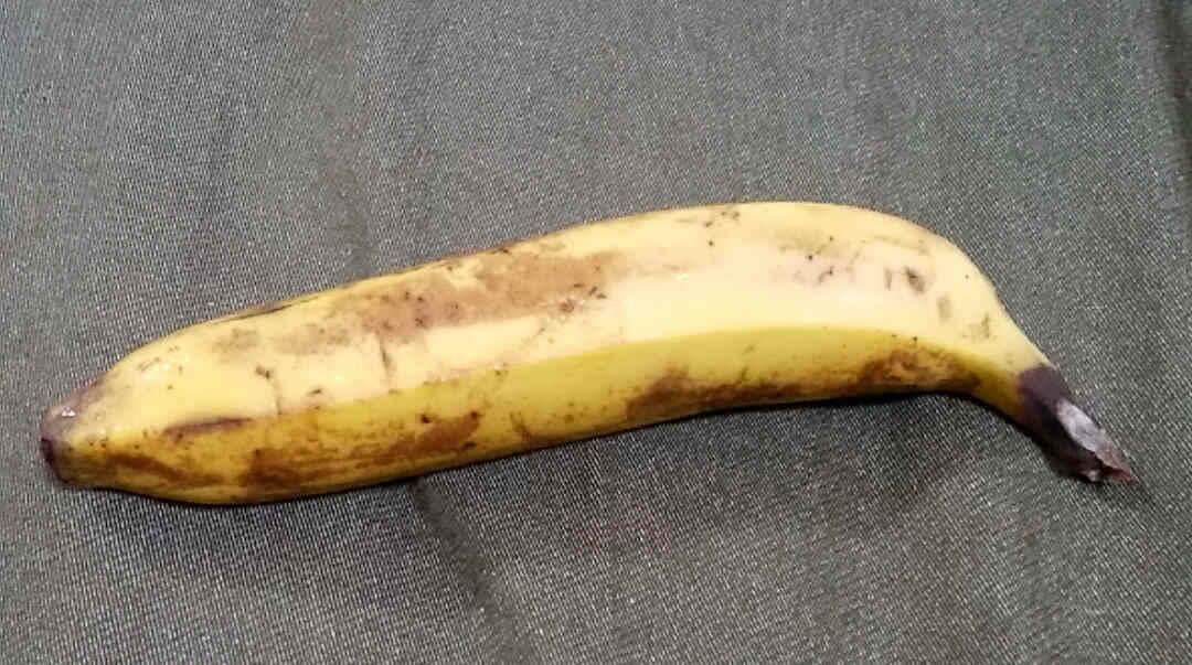 日立の冷蔵庫に1週間保存したバナナ
