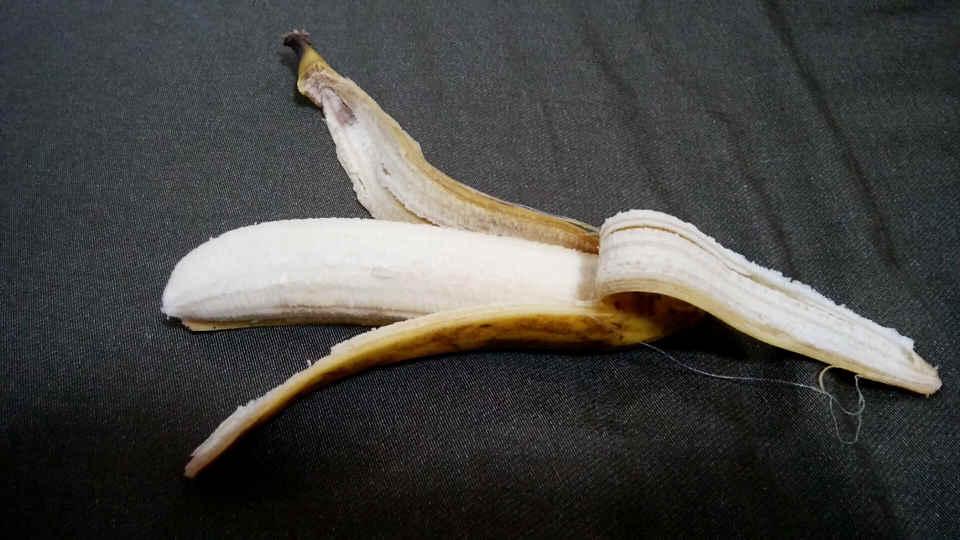 日立の冷蔵庫に1週間保存したバナナ2
